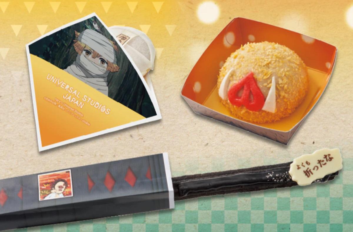 「彌豆子爆米花桶」排5小時瘋搶!日本環球影城x鬼滅之刃餐點、周邊好想衝
