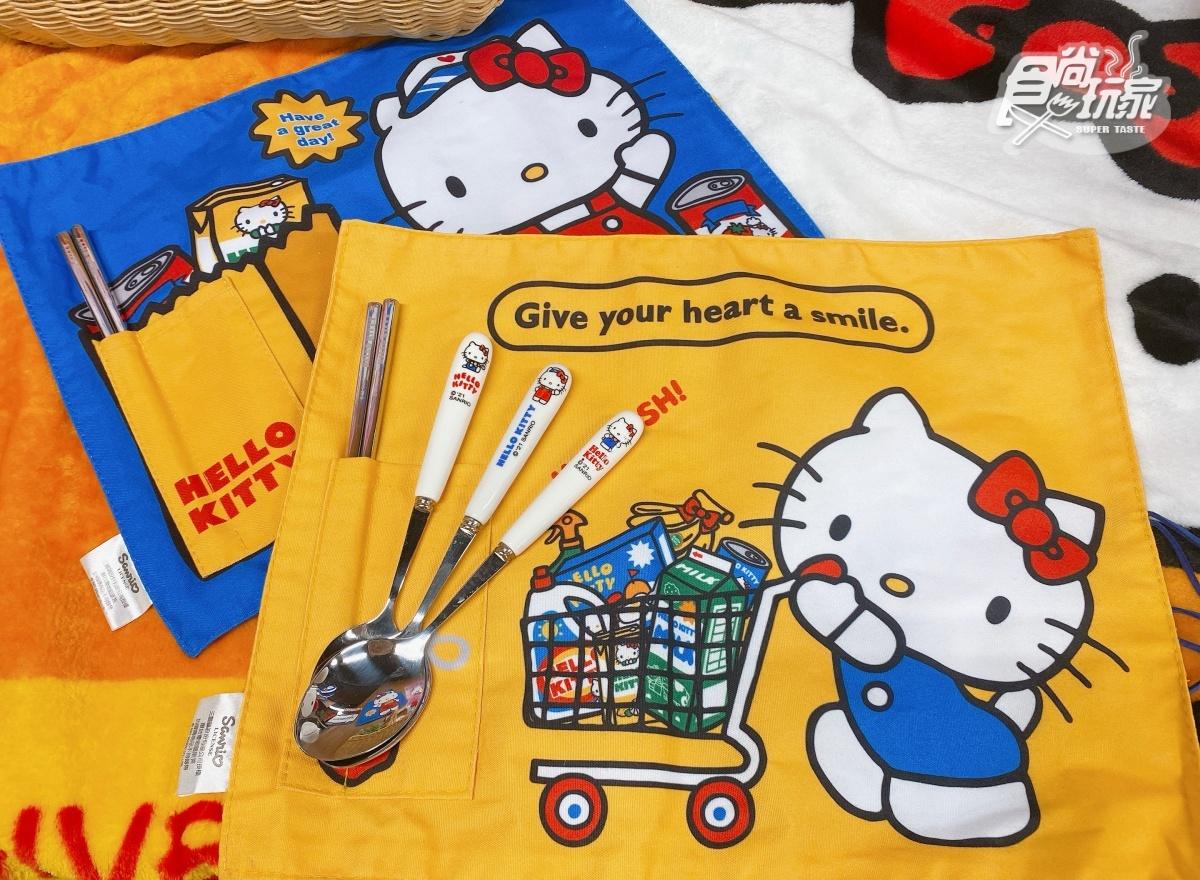 Kitty迷失心瘋!全聯Hello Kitty換購活動開跑,「暖手枕毛毯、蝴蝶結盤碟」萌翻