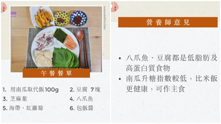 韓人氣女團頌樂減肥吃生菜包肉 營養師認證「倒三角飲食」吃肉又吃澱粉也能吃瘦