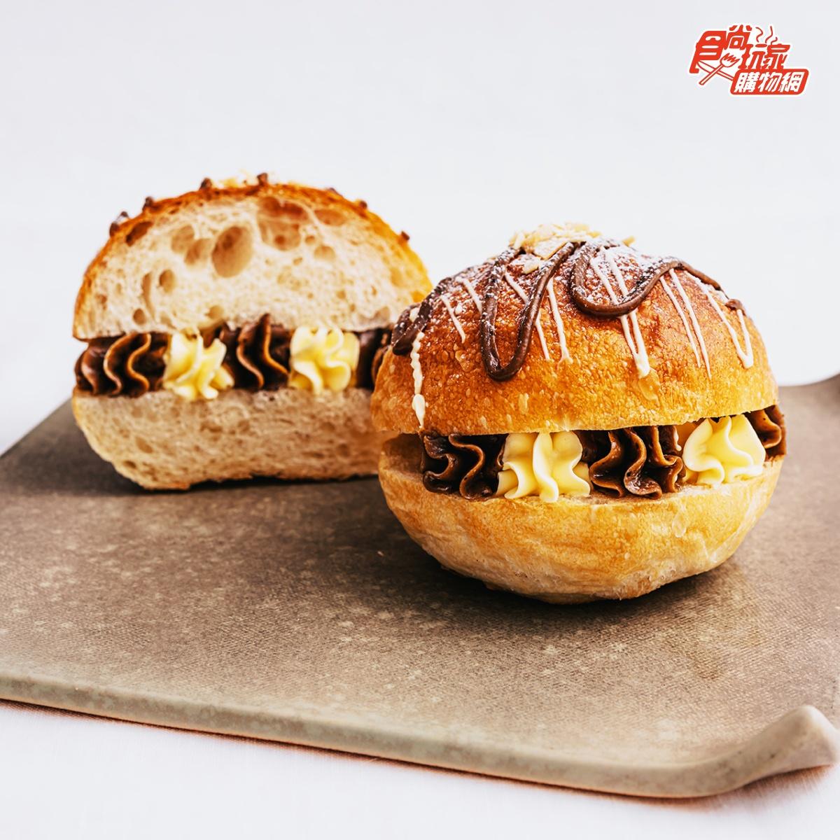 打開就能吃!懶人必收5款爆餡下午茶:3公分厚芋泥燒、風靡日韓生乳包