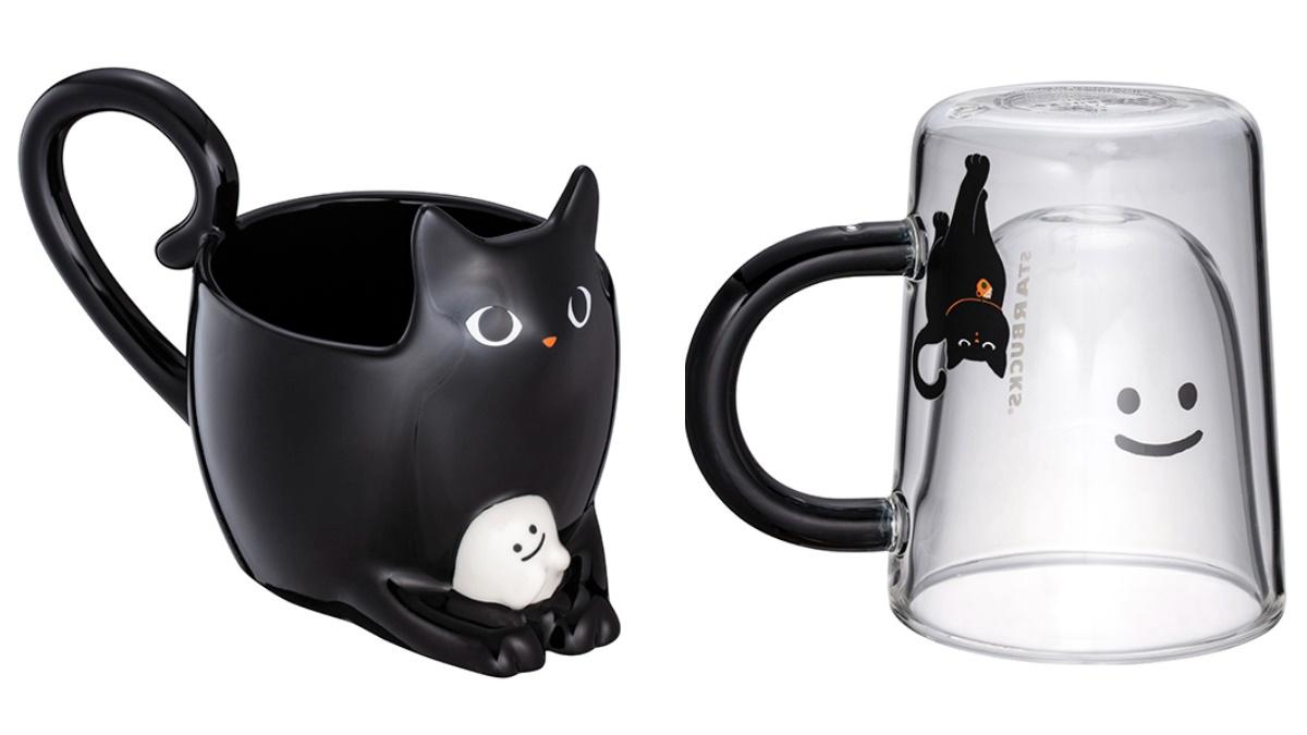 貓奴每年都搶瘋!星巴克萬聖「黑貓南瓜+夜光精靈」杯款到,30款周邊這天賣