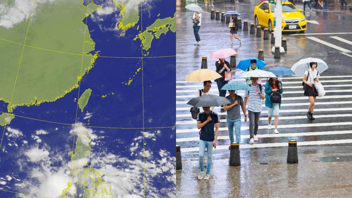 把握今明好天氣!週三變天恐有「雙秋颱」形成,國慶連假這4區防大雨