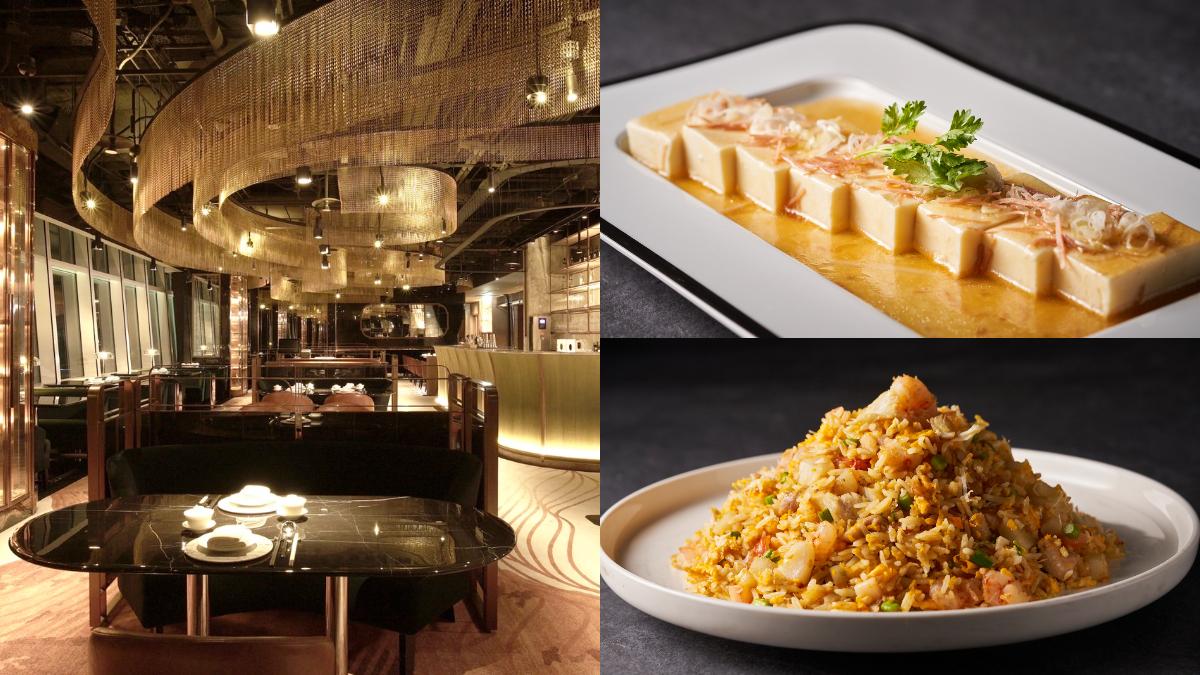 最低只要180元!台北最新高空餐廳「捌伍添第」,片皮烤鵝、叉燒皇必吃