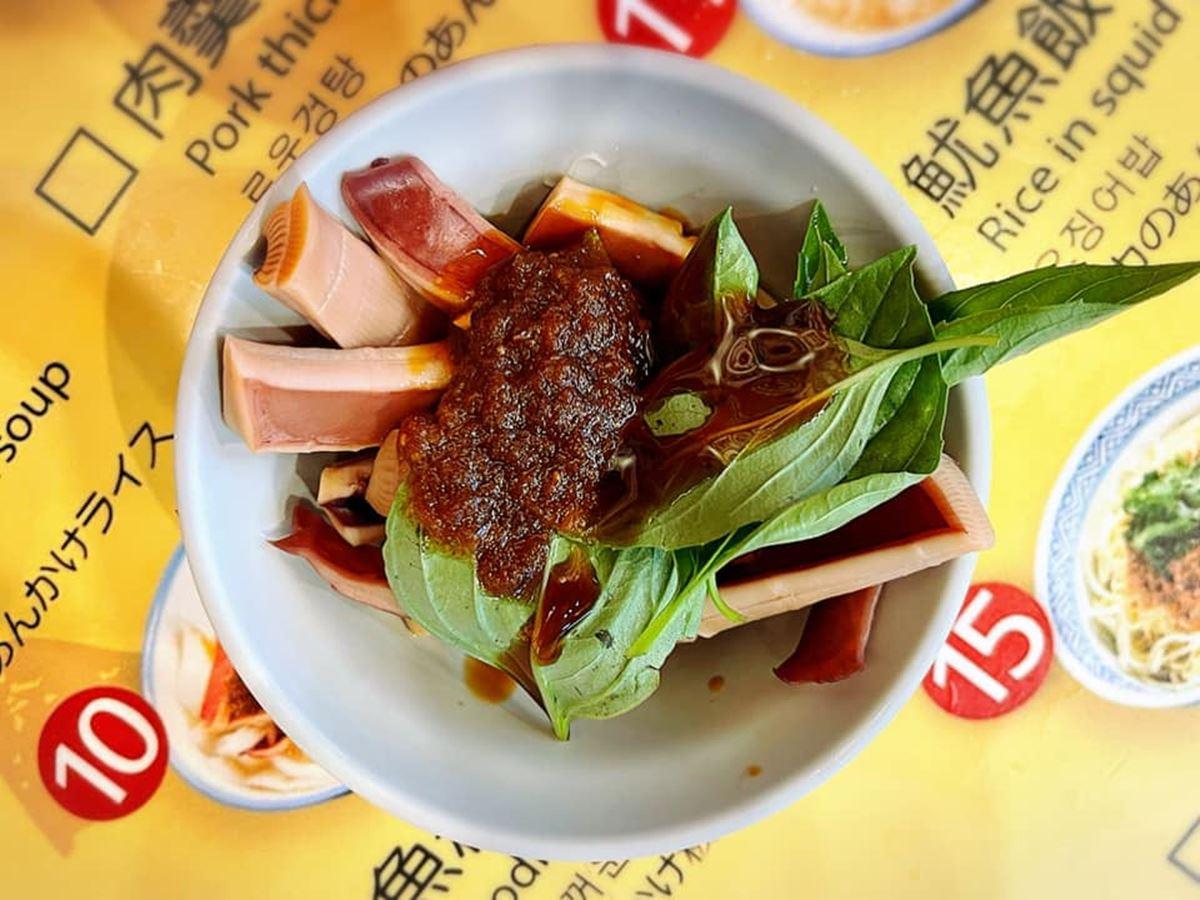 30年金牌名攤!瑞芳「溫體豬肉羹」每日手工現做,清甜湯頭搭配沙茶超唰嘴