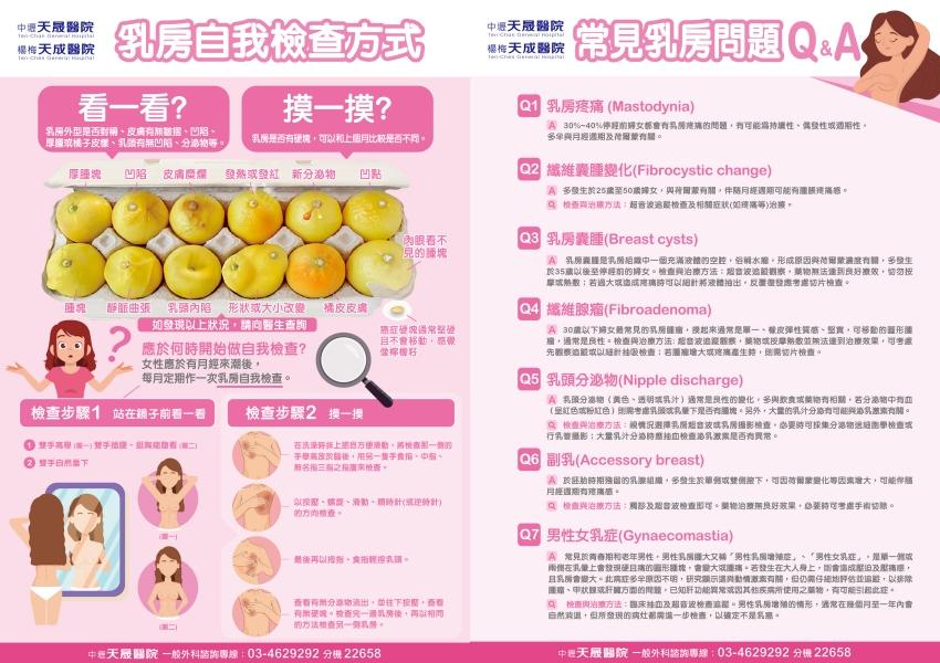 台灣乳癌40年增7倍 乳癌怎麼看、怎樣摸?醫師手把手教您天天「自摸」