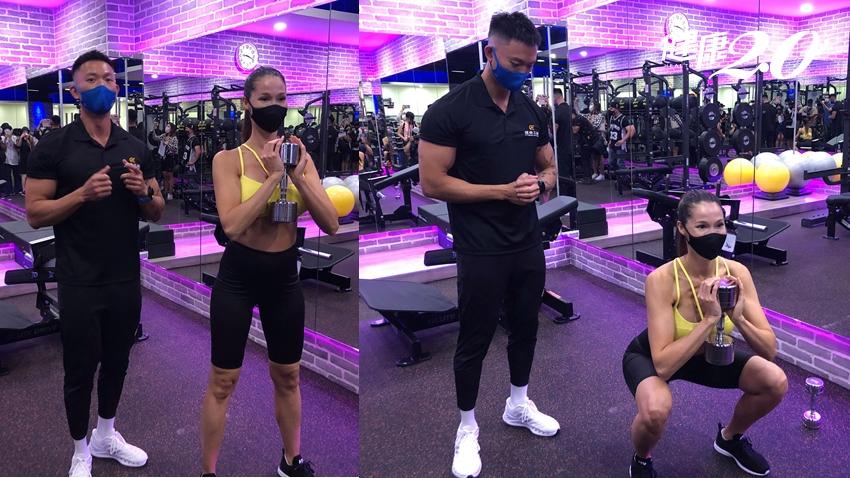 深蹲練出名模身材!上班族必做5運動 瘦身又能遠離肩頸痠痛