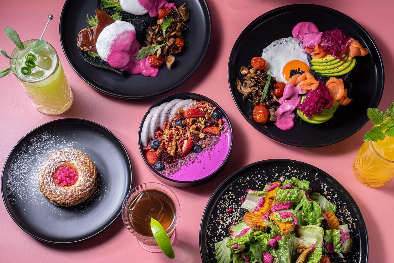 【新開店】超美ELLE CAFÉ海外首店降臨台北!巴黎風「PINK」餐點1秒到法國