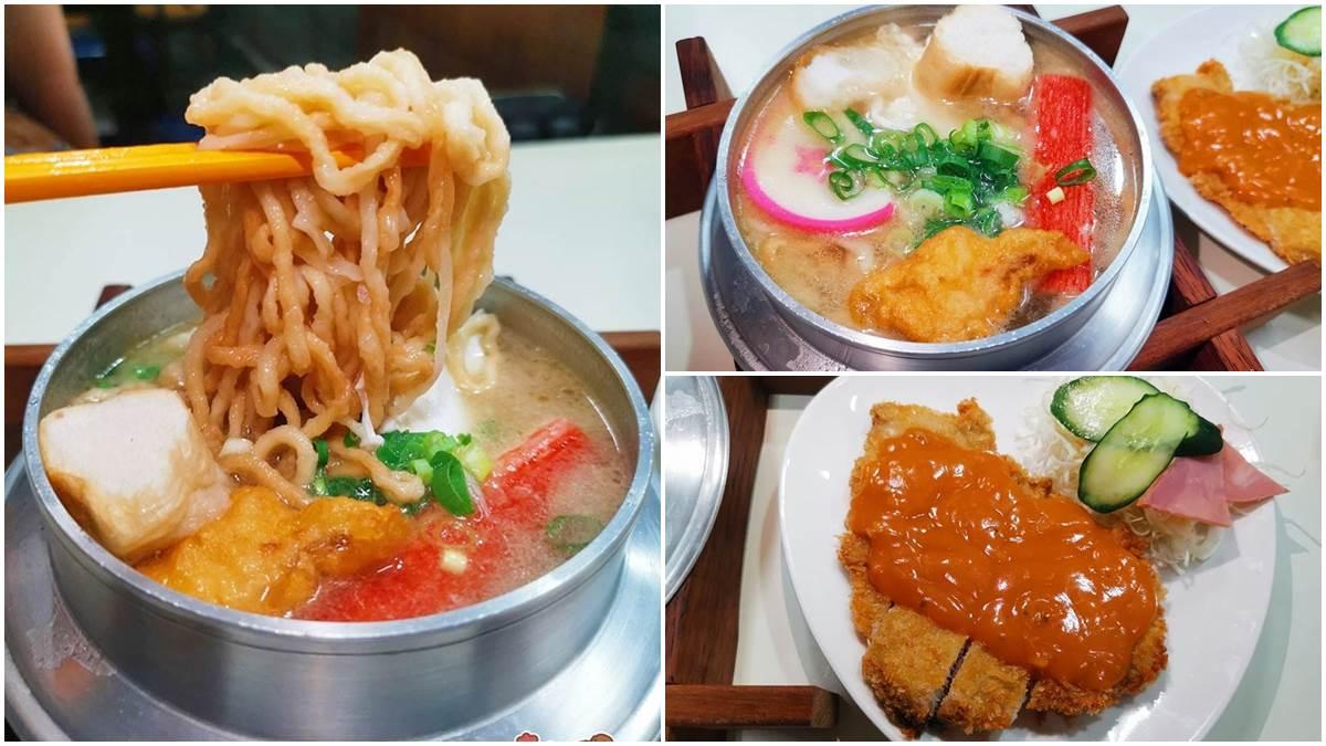 台南人的回憶!40年「鍋燒意麵」柴魚湯底超鮮甜,炸豬排淋特調沙拉醬才對味