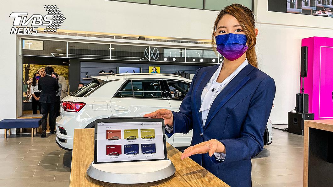 Volkswagen更新展間識別設計同時,也導入無紙化數位展廳概念。 Volkswagen全臺升級數位展廳 全臺進入無紙化科技服務