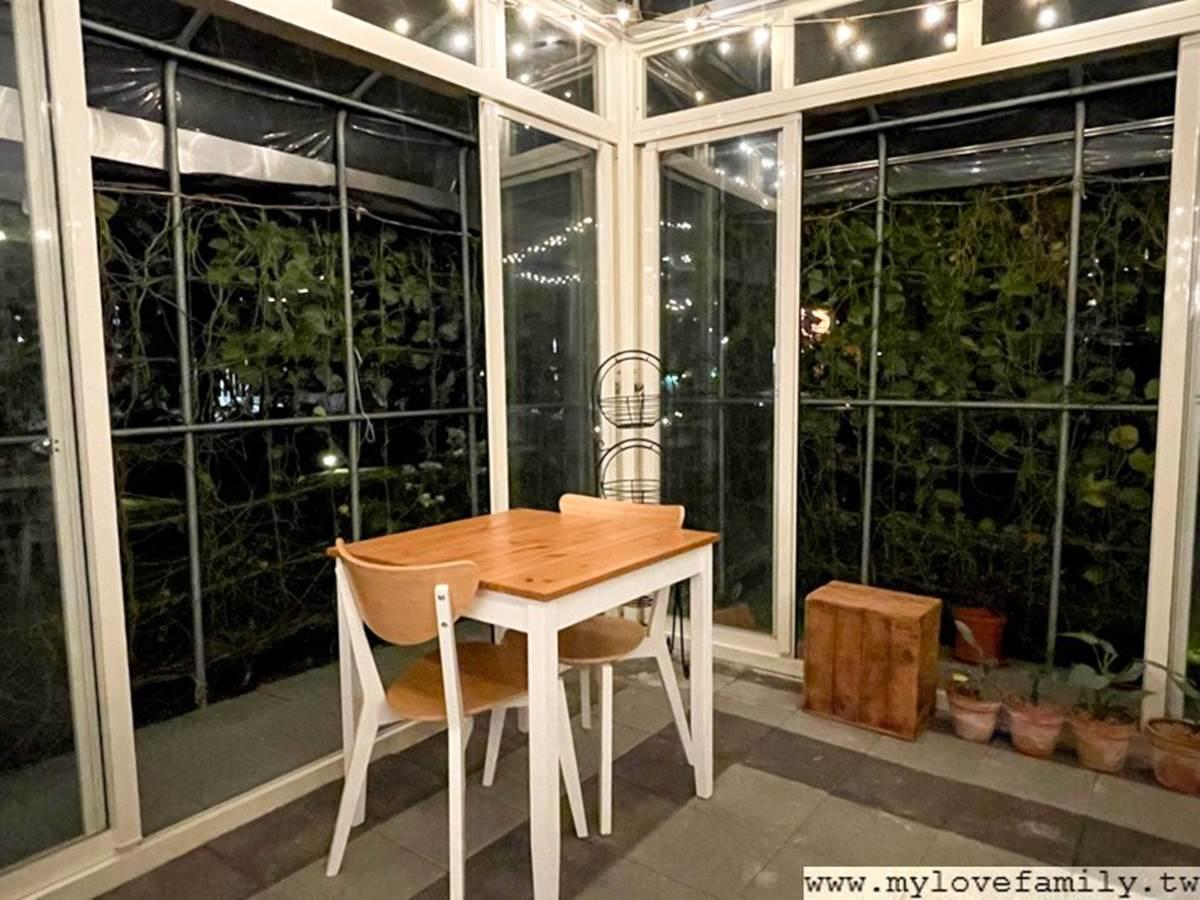 地圖上找不到!桃園「溫室咖啡廳」美拍森林系裝潢,還能打卡夢幻玻璃屋夜景