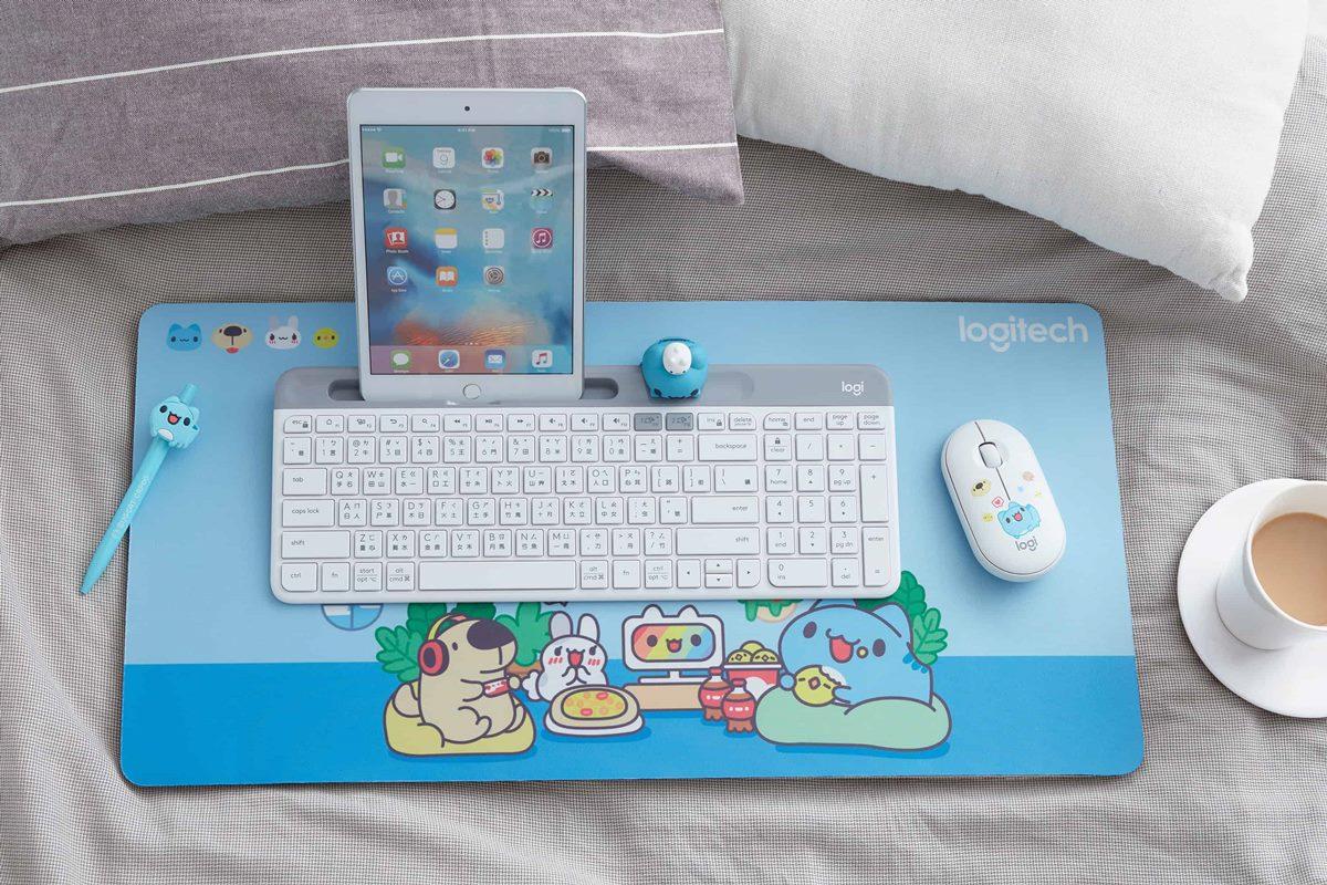萌到翻掉!羅技「貓貓蟲咖波」系列開賣,買鍵盤組送周邊、5款滑鼠變身上蓋