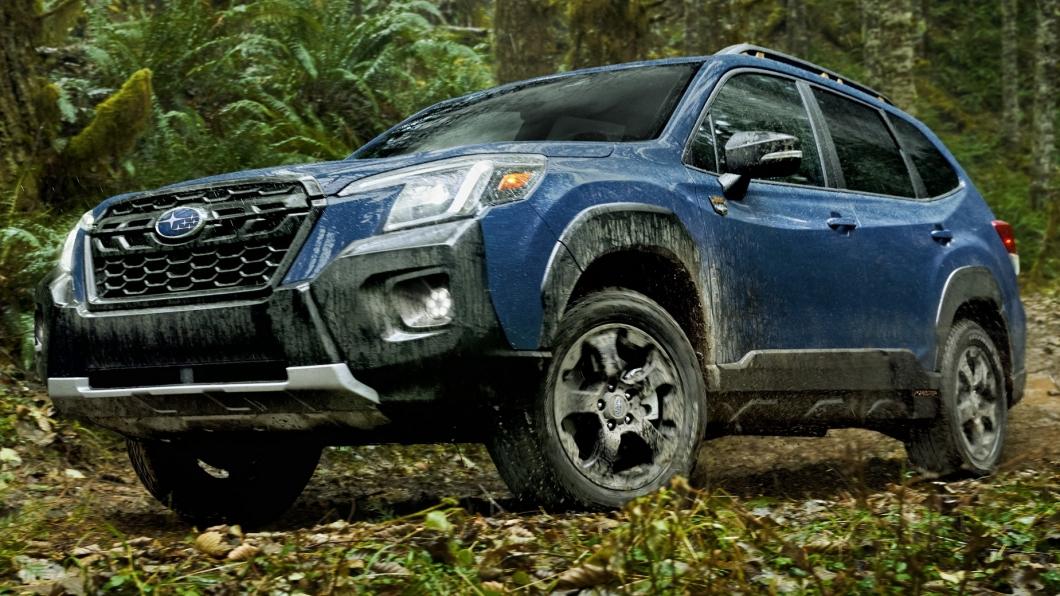 森林人才剛進行完小改款,更有越野風格的外觀吸引不少人注意,不過在2023年這輛車就會有大改款車型出現。(圖片來源/ Subaru) 下一代速霸陸森林人將擁有Toyota油電科技! 2023年正式發表