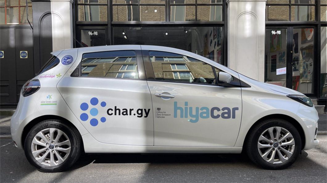 還有什麼比直流快速充電樁還酷?那就是車用無線充電!(圖片來源/ char.gy) 無線汽車充電才是未來 英國能源公司展開測試
