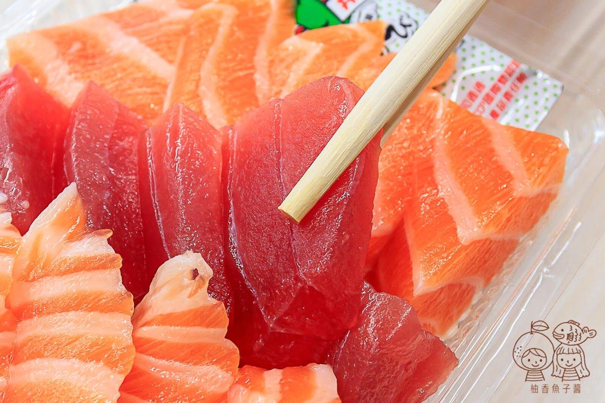 1片10元!台中「神祕生魚片」深夜排隊才吃得到,必嗑厚切鮭魚、紅寶石鮪魚