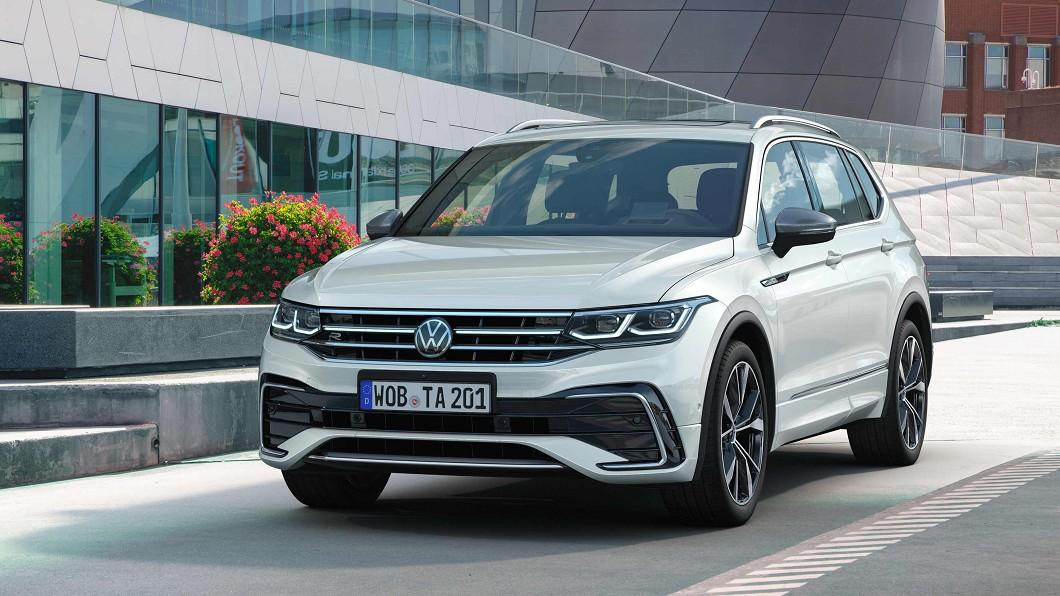 Volkswagen Taiwan正式啟動小改款Tiguan Allspace預售。(圖片來源/ Volkswagen) Tiguan長軸版標配矩陣頭燈與前座通風座椅 全車系152.8萬起預售開跑