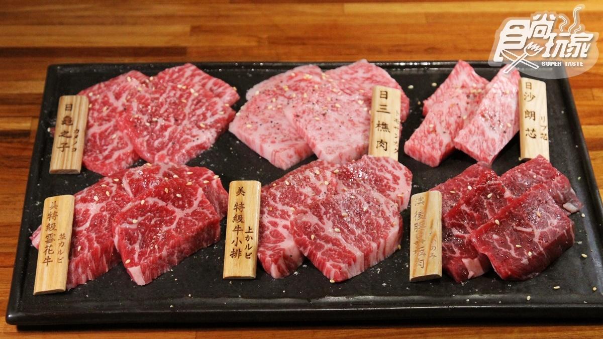 日本力士の燒肉店!台北超驚人「50CM和牛握壽司」,大胃王必挑戰「相撲飯」
