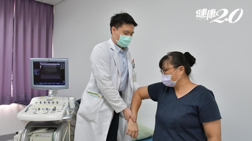 40歲熟女梳頭、扣內衣右肩就劇痛 復健與藥物讓肩膀「解凍」遠離五十肩