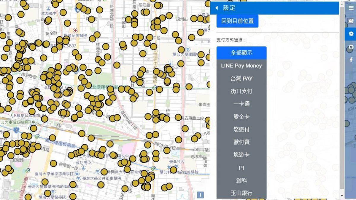 神人自製「超狂好食券地圖」!適用店家、支付方式一次看,導航功能太實用