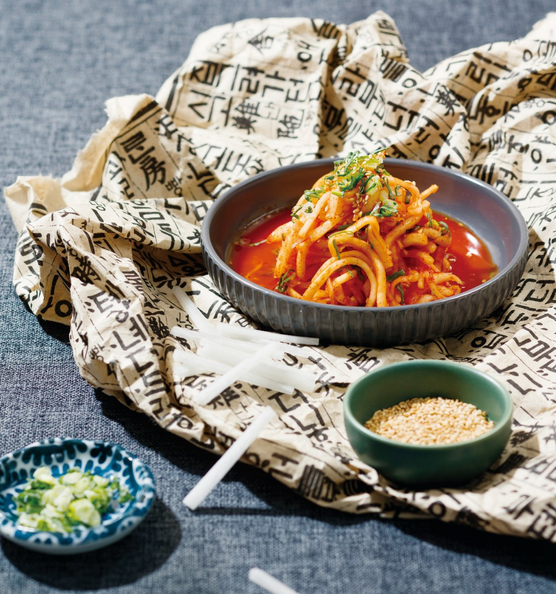 五星主廚教你做!3款韓式小菜超簡單,消夜搭泡麵吃開胃又唰嘴
