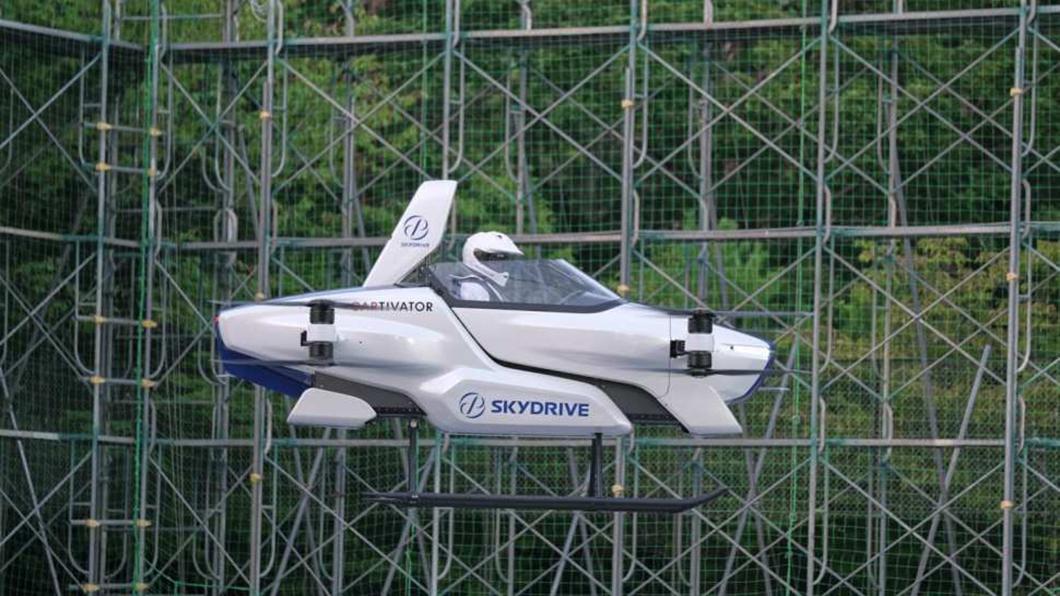 豐田正在試驗eVTOL電動垂直起降技術,甚至投資一家SkyDrive日本新創公司,相信未來掛著Toyota的飛天車問世亦將指日可待。(圖片來源/ SkyDrive) Toyota也想飛上天! 豐田太子親自督軍「飛天車」計畫