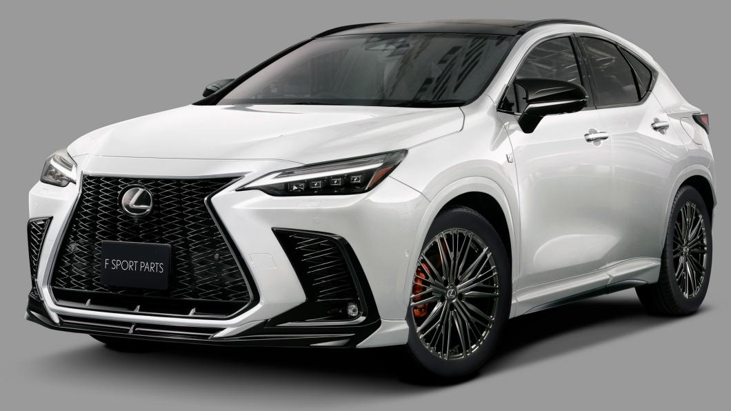 大改款NX加上了TRD套件更有運動感受。(圖片來源/ Lexus) Lexus NX裝上TRD套件有夠兇! 擺脫文靜形象操控性同步提升