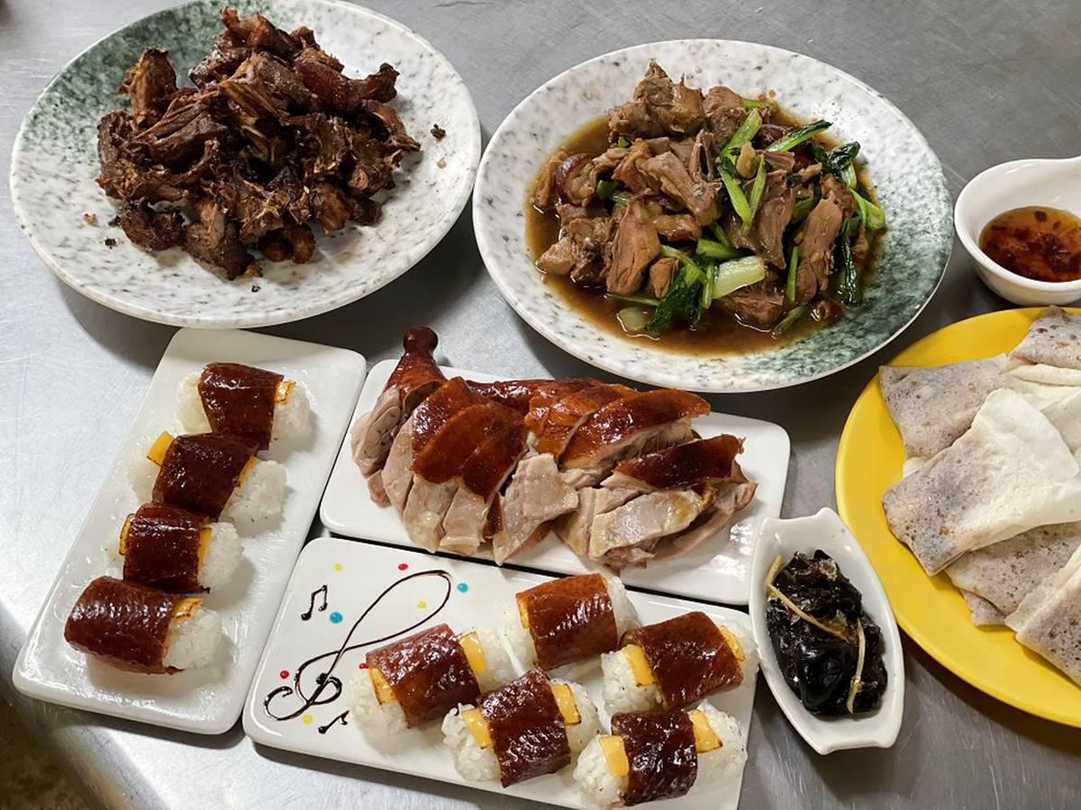 手刀預訂!台南隱藏版「一鴨五吃」先嘗炙燒起司鴨壽司,重口味必嗑鹹酥鴨