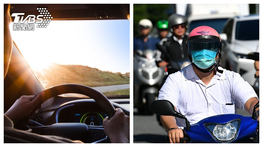 網友PO文表示自己擁有汽車後就不太想回去騎機車了。(圖片來源/ shutterstock達志影像、TVBS) 有了汽車就不會想再騎車了? 達人:北部通勤成本差很大