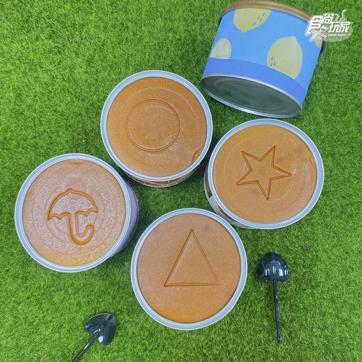 《魷魚遊戲》椪糖化身舒芙蕾!「鐵罐蛋糕」印有4種符號,雨傘、星星等你挑戰