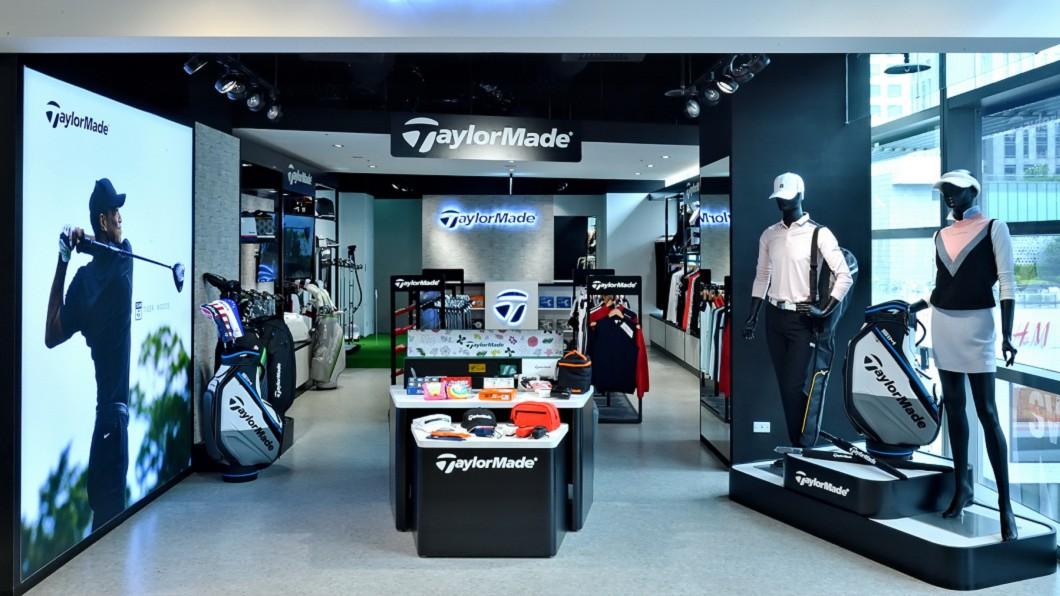 TaylorMade Golf全台首間品牌概念店於台北市信義商圈開幕。(圖片來源/ TaylorMade) TaylorMade高爾夫首家品牌概念店開幕 逛一趟裝備全部買齊!