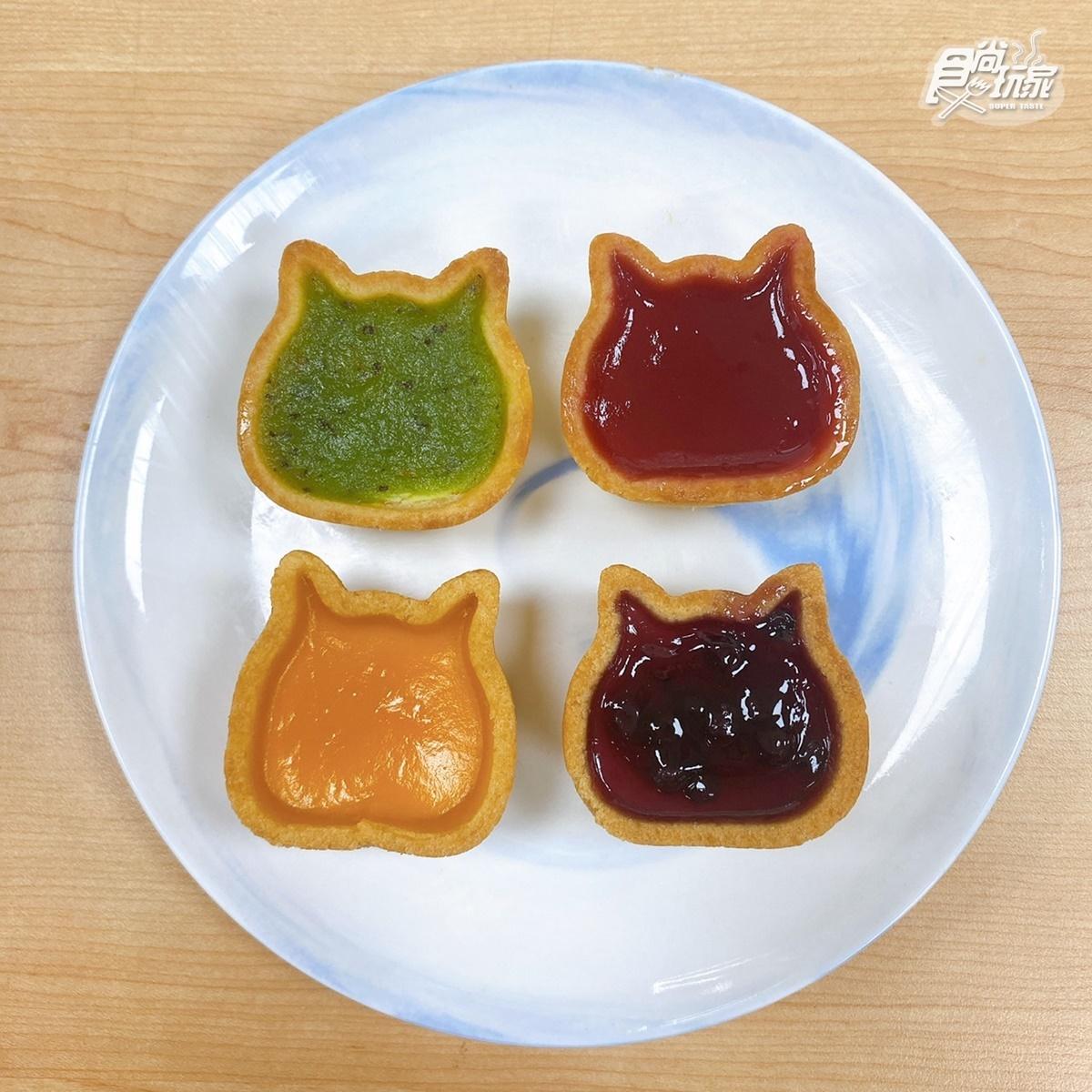 NEKO NEKO CHEESECAKE快閃台中!全台首賣「彩虹貓」4色果醬起司蛋糕必吃