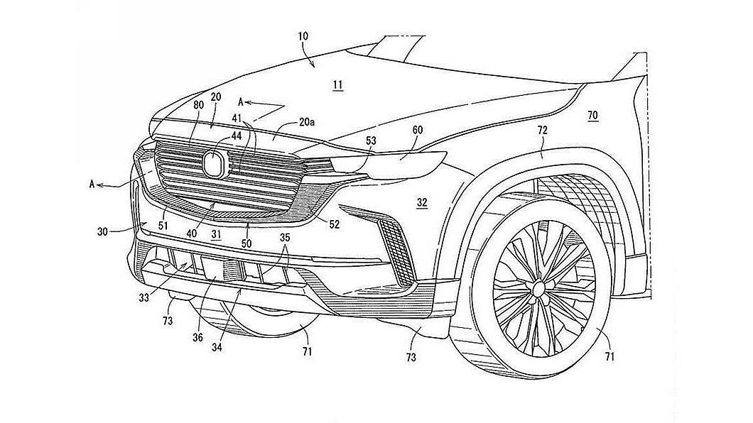 Mazda針對北美市場推出的休旅新車CX-50預計下個月發表,但在這支前就因為專利資料讓車身外觀曝光。(圖片來源/ UPSTO) Mazda全新CX-50長相意外曝光 都是專利申請惹的禍