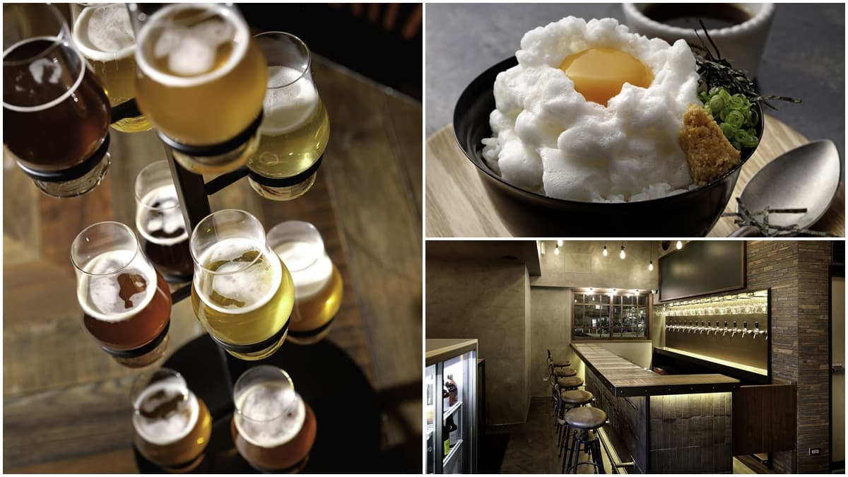 【新開店】全台首家「日本精釀餐酒館」在台北,15款拉霸啤酒免費試喝