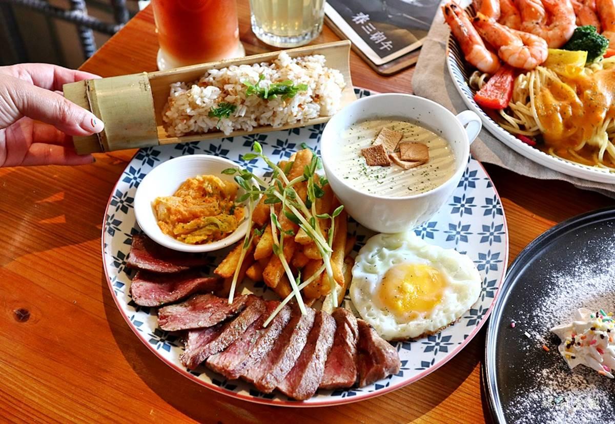 有3個2送牛排!台中「人氣早午餐」推超狂身分證優惠,滿料金沙義麵也必點
