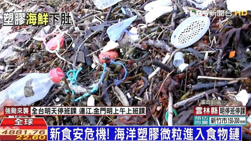 新食安危機! 海洋塑膠微粒進入食物鏈