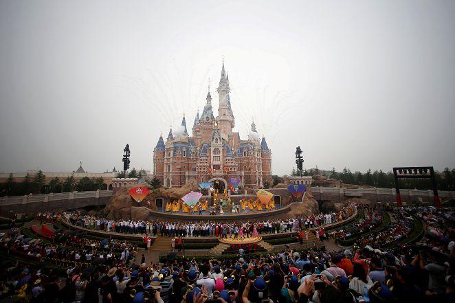 圖/達志影像路透社 陸男網賣上海迪士尼假門票 不法獲利50萬