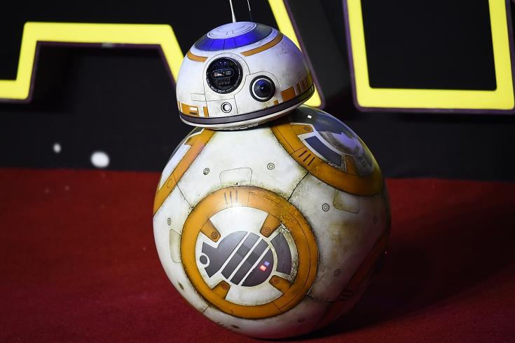 圖/達志影像路透社 星戰七球型機器人BB-8 內部構造揭密