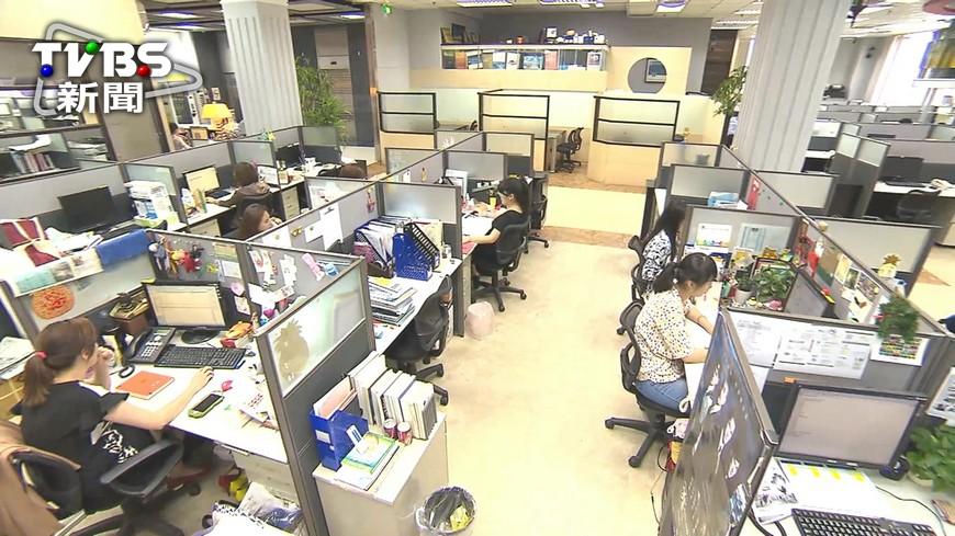 圖/TVBS資料畫面 職場乏味恐致病? 研究:工作太無聊易短命