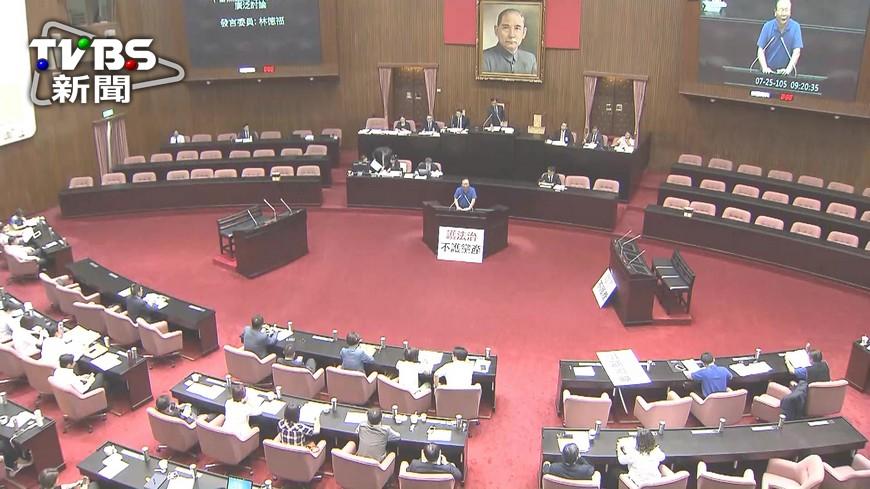 圖/TVBS 國民黨下屆黨魁 106年5月20日選舉