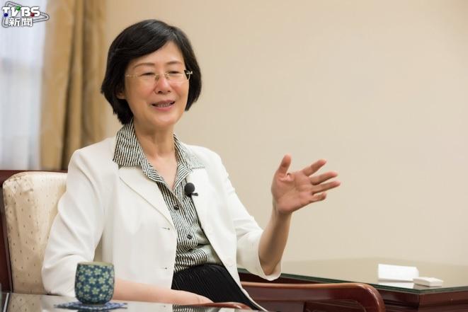 前法務部長羅瑩雪用開玩笑的說法,嘲諷蔡政府施政作為鼠目寸光。圖/TVBS