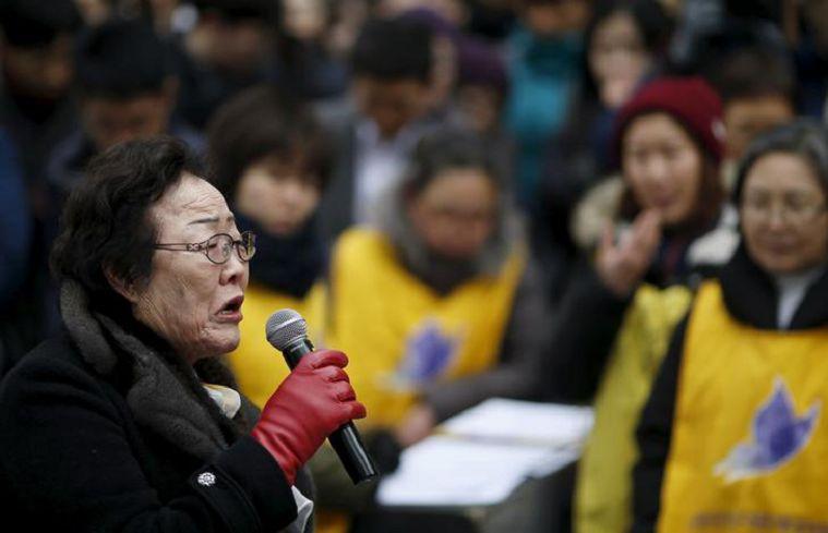 圖/達志影像路透社資料畫面 FOCUS/日資「慰安婦賠償基金會」成立 爆抗議衝突