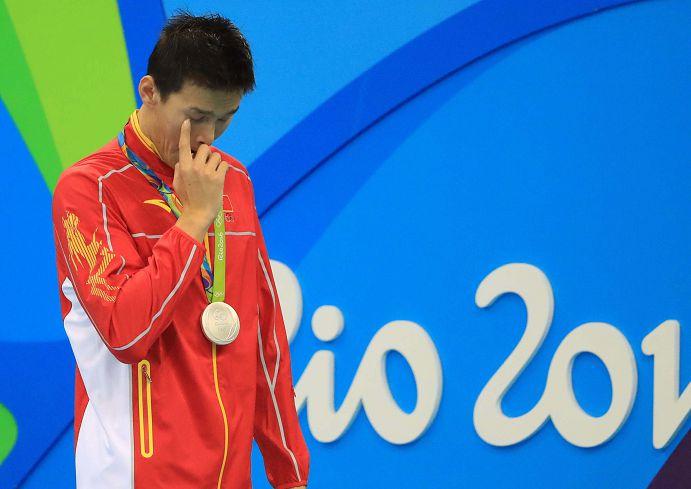 圖/達志影像路透社 「用了洪荒之力」 陸奧運女泳將樂晉決賽