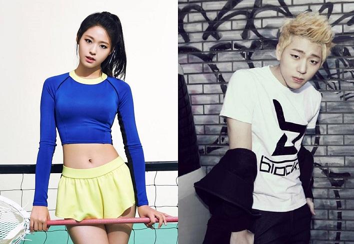 圖/AOA、Block B臉書 南韓女神死會!雪炫與ZICO熱戀中