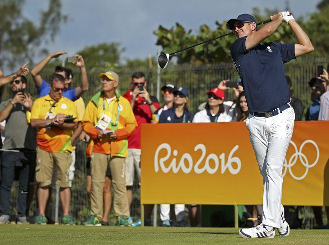 圖/達志影像路透社 奧運首位「一桿進洞」 英國選手羅斯寫歷史