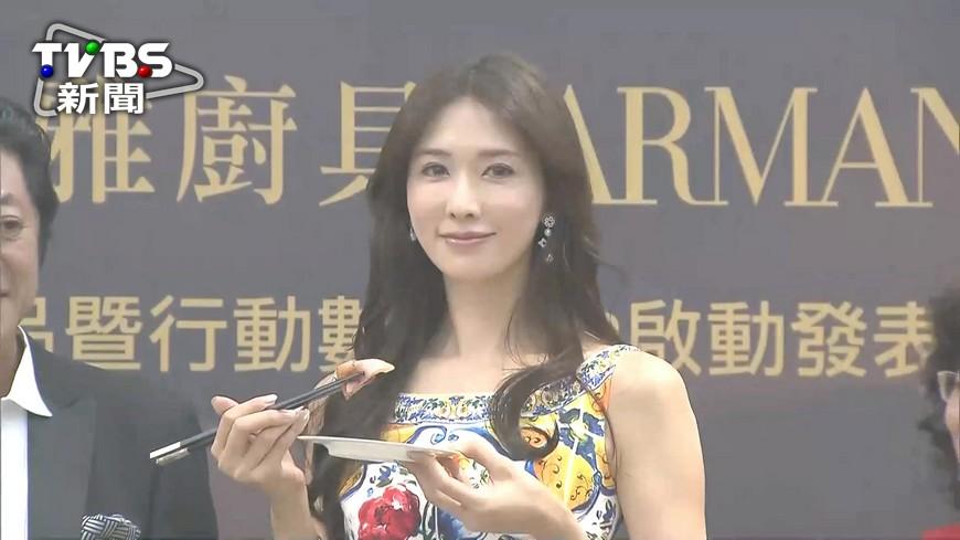 圖/TVBS資料畫面 明年桃花運最旺! 命理師:林志玲錯過恐當「虎姑婆」