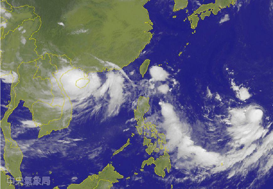 圖片來源/中央氣象局 快訊/低壓帶盤據! 西太平洋共「4熱低壓」成颱風窩