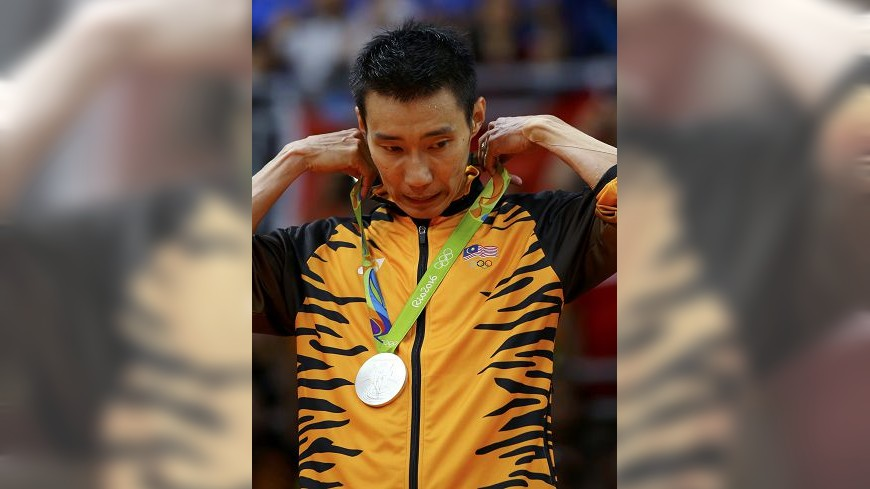 圖/達志影像路透社 王見王!奧運男羽金牌戰 大馬李宗偉「銀」恨