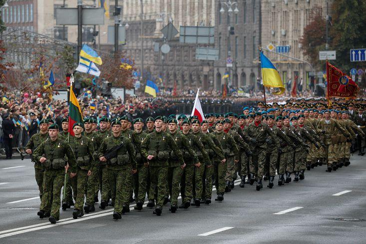 圖/達志影像路透社 烏克蘭獨立25年 內戰天天上演緊張升溫