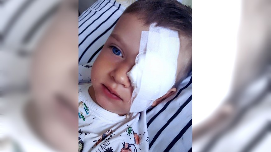 波蘭3歲男童罹患眼癌,馬拉卓斯基決定義賣銀牌替他籌醫藥費。圖/截取自Piotr Małachowski臉書 義賣奧運銀牌!波蘭選手助3歲癌童抗病