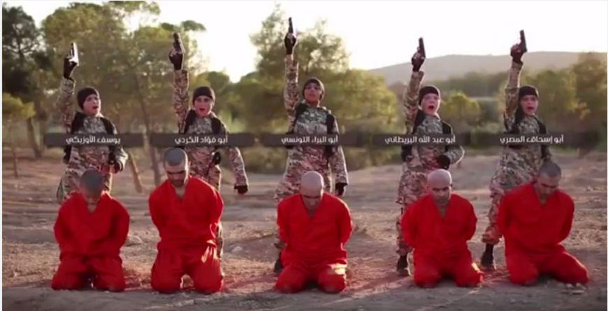 染血的純真靈魂…ISIS派5孩童任劊子手 槍決人質