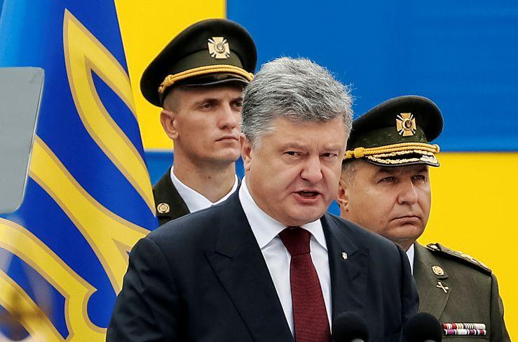 圖/達志影像路透社 FOCUS/烏克蘭國慶陰霾 俄4萬大軍邊境威脅